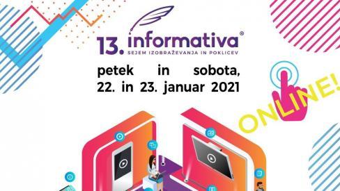 Grafična podoba, promocijski plakat 13.  Informativa: www.informativa.si